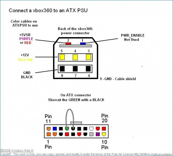 Xbox 360 Power Wiring Diagram
