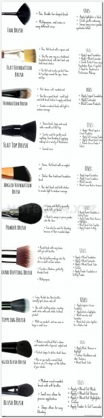 Steps To Make Up, Eyeshadow Diagram Application, French Makeup