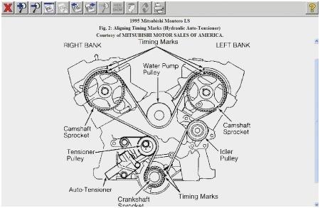 2001 Mitsubishi Galant Engine Diagram Detailed