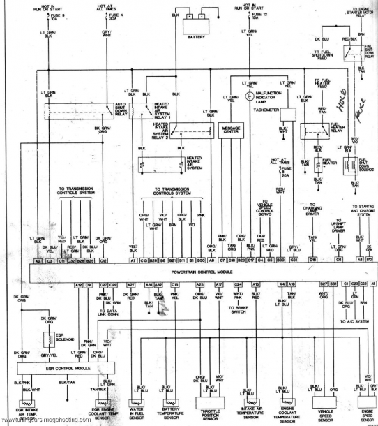 2012 dodge wiring