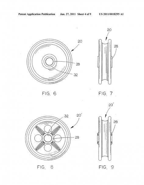 Trolley Wheel Assembly
