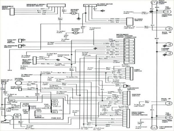 Datsun 77 280z Wiring Diagram