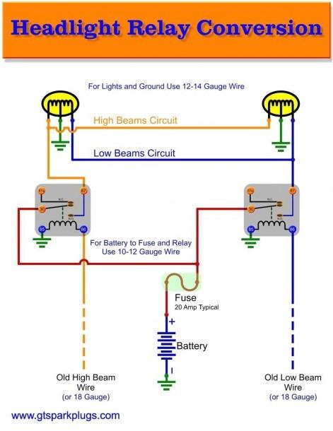 12v Relay Wiring Diagram 5 Pin