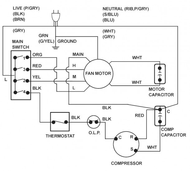 Carrier Wiring Diagram Thermostat Package Air Conditioning System