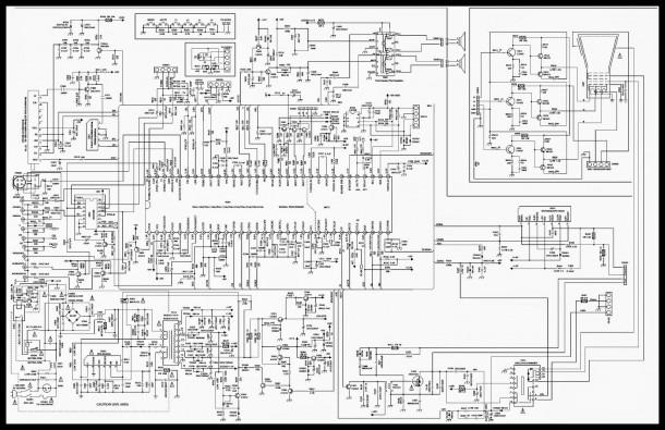 Color Tv Circuit Diagram
