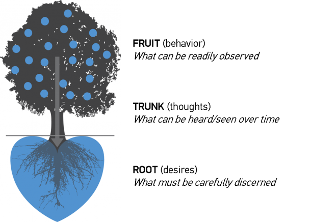 How To Use The Life Group Soul Care Tool  3  Heart Tree Diagram