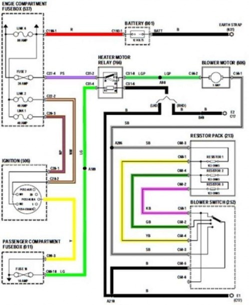 Honda Civic 2000 Radio Wiring Diagram