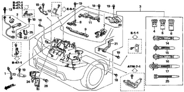 2002 Mitsubishi Eclipse Egine Wire Harness   42 Wiring Diagram