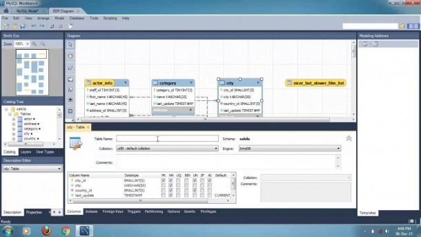How To Create Eer Diagram From Existing Database Using Mysql