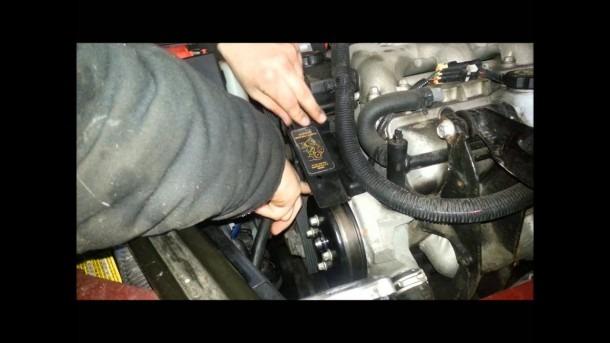 Serpentine Belt Install 3 1  3 4 V6