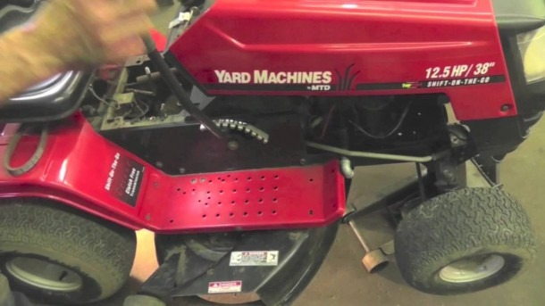 How To Replace The Drive Belt On An Mtd Variable Speed Riding