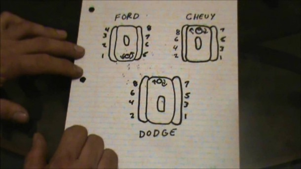 Dodge 360 Firing Order Diagram