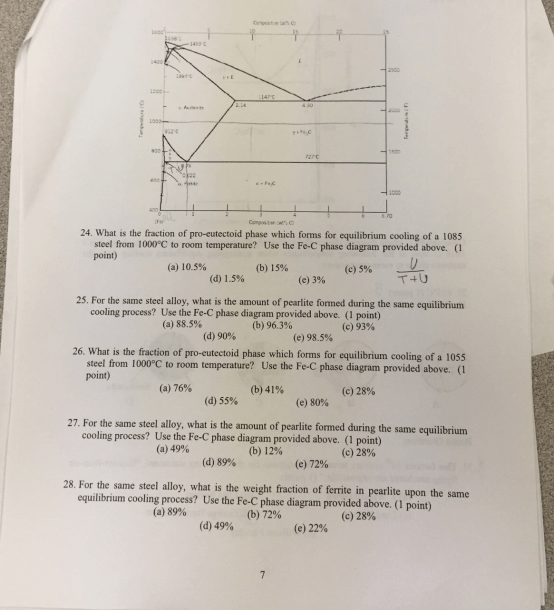 Solved  This Is A Material Science Question In Which It Re