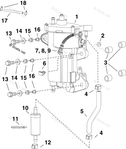 Evinrude Outboard Parts By Year 2009 Oem Parts Diagram For Fuel