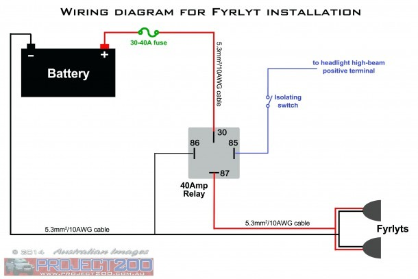 Relay Wiring Diagram 4 Pin