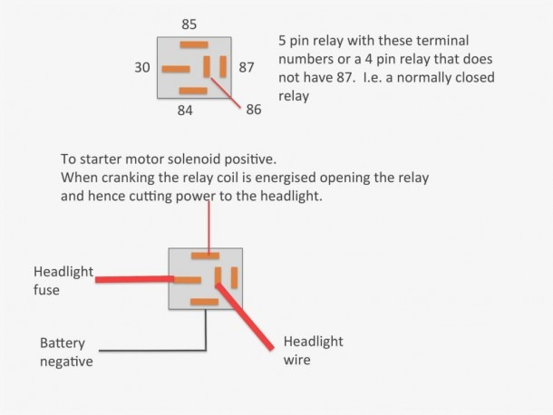 Relay Wiring Diagram 4 Pin