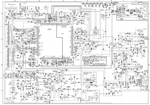Videocon 21 Inch Ctvs Circuit Diagrams – Tda 12135 And Tda12020h