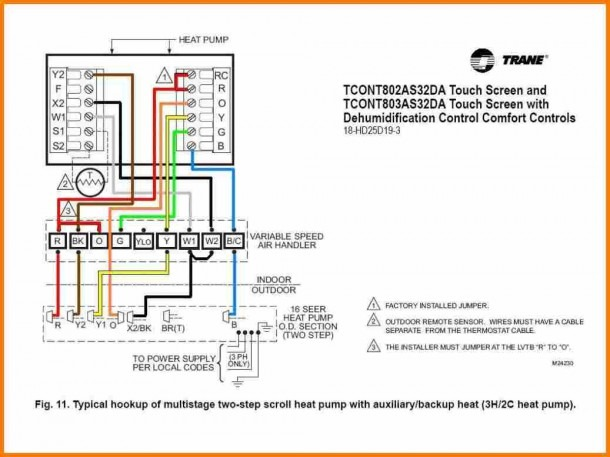 Wiring Diagram For A Honeywell Thermostat Luxury Thermostat