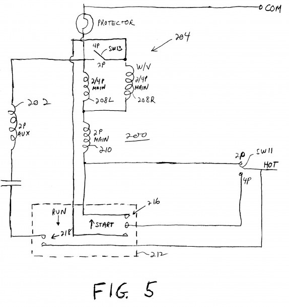Wiring Diagram For Capacitor Start Motor