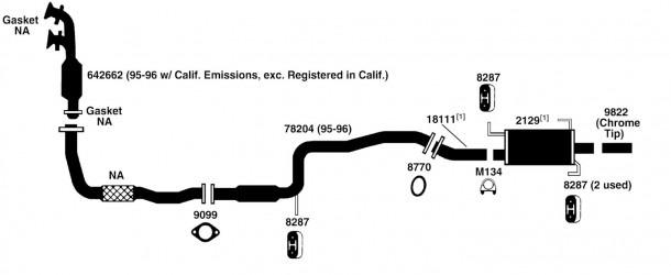 Nissan Datsun Sentra Exhaust Diagram From Best Value Auto Parts