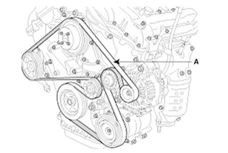 2012 Hyundai Sonata Engine Diagram