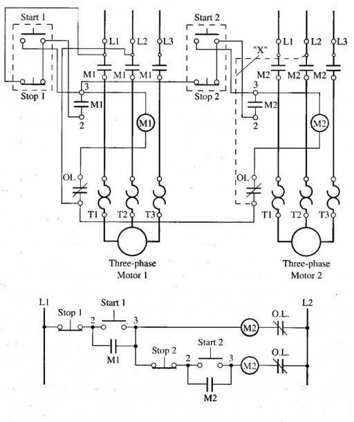 Wiring Diagram For Motor Starter