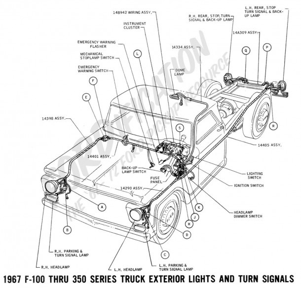 Ford F150 Exhaust System Diagram