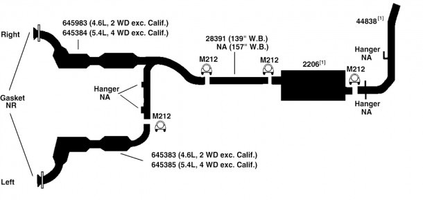 Ford Exhaust Diagrams - Wiring Diagram Article