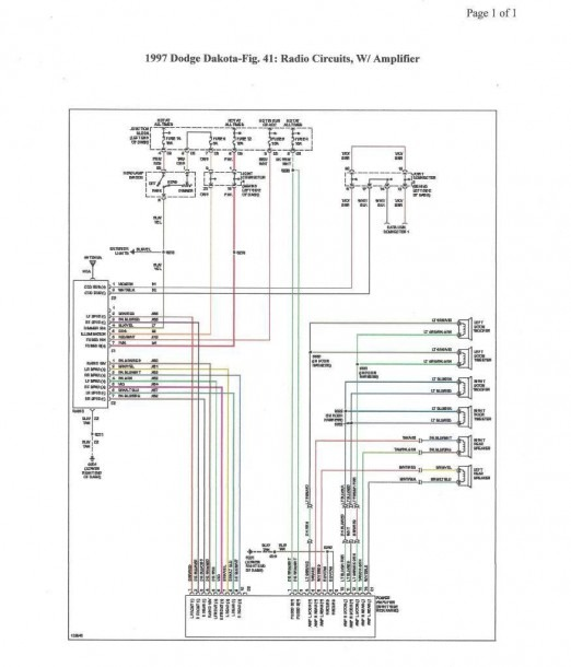 99 Dodge Durango Stereo Wiring Diagram  U2013 Best Diagram