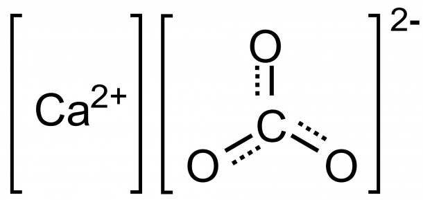File Calcium Carbonate Structure Svg