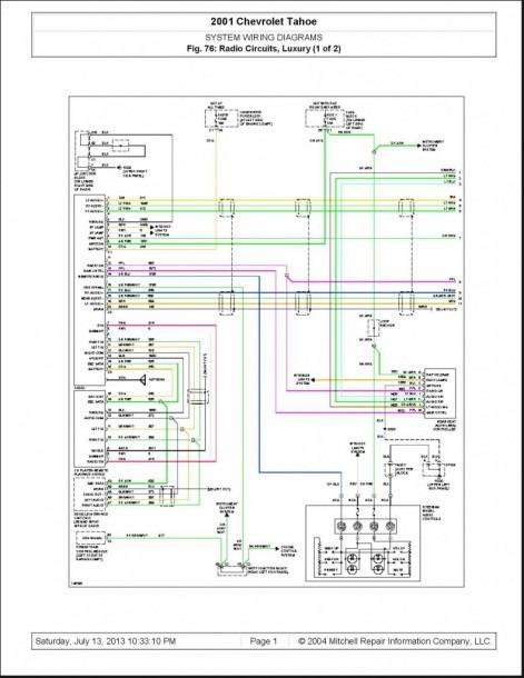 2001 Kia Sportage Stereo Wiring Schematic