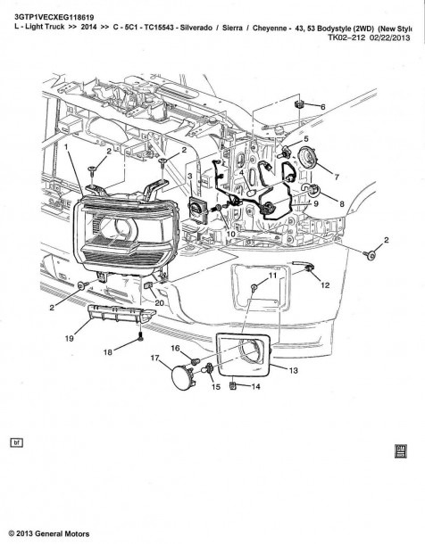 2002 Chevy Tahoe Parts Diagram