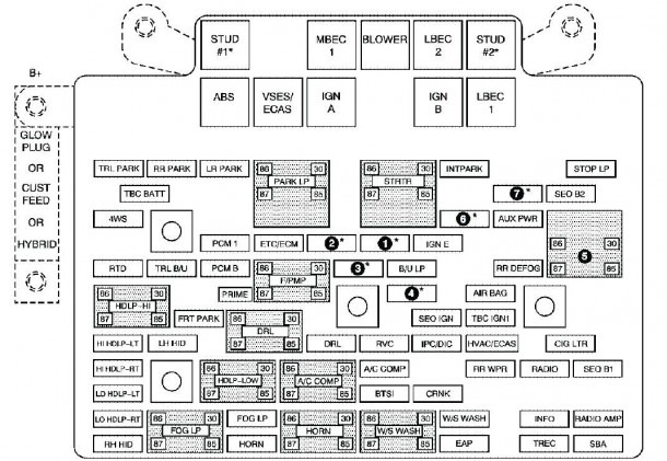 fuse box on honda civic 2003 wiring diagram all data rh 6 16 19 feuerwehr randegg de  2003 honda civic hybrid fuse diagram