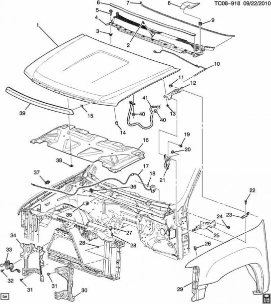 07 Chevy Tahoe Engine Diagram