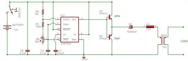 Ac Dc Inverter Wiring Diagram