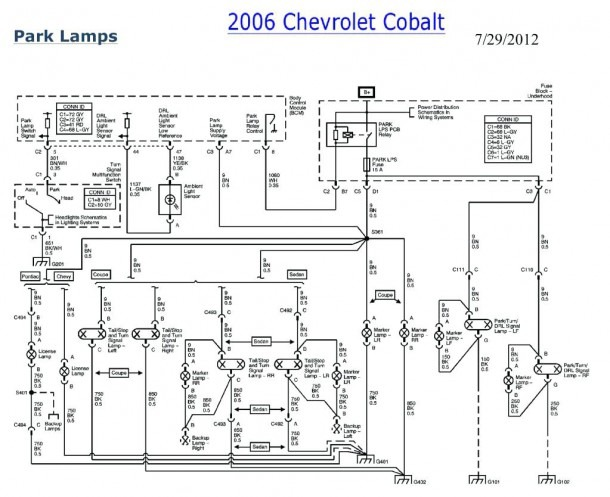 2008 Chevy Cobalt Parts Diagram