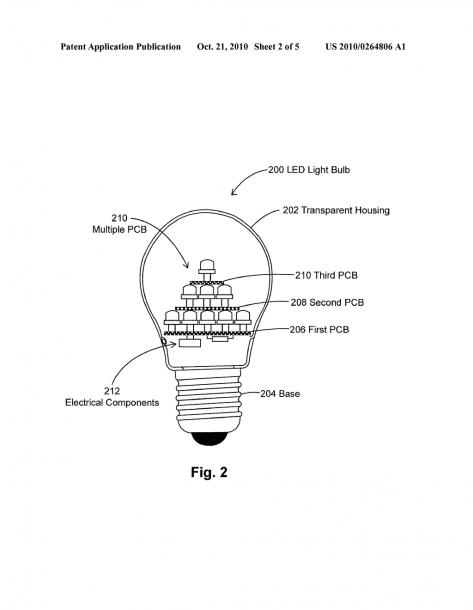 Diagram Of Led Light Bulb