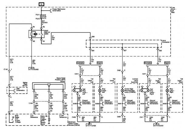 2002 Cadillac Escalade Radio Wiring Diagram