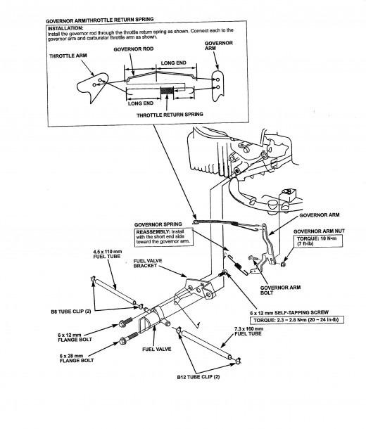 Honda Gcv160 Fuel Filter Location