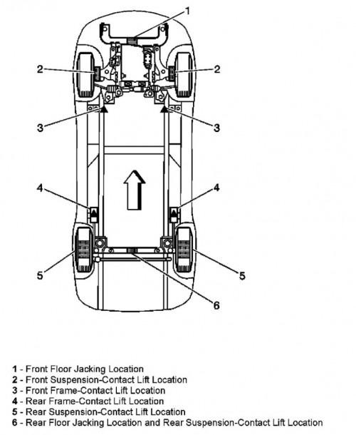 2008 Chevy Uplander Diagram