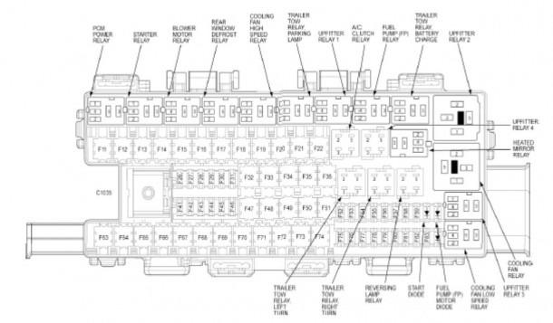 2010 F250 Fuse Diagram