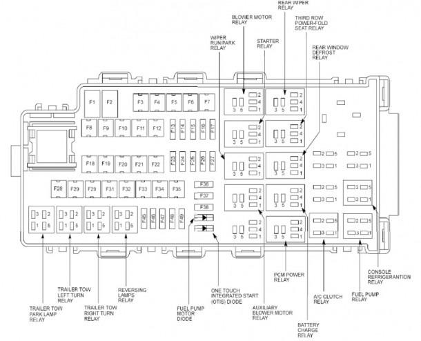 2010 Ford Escape Fuse Box Diagram