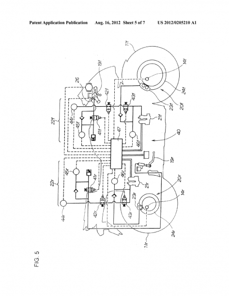 Brake System For Motorcycle