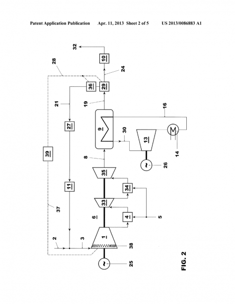 Method For Operating A Gas Turbine Power Plant With Flue Gas