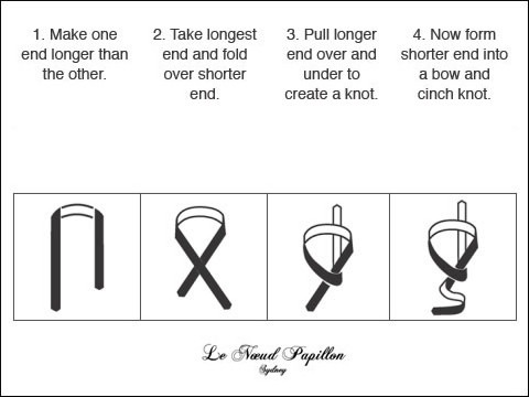 How To Diagrams How To Tie A Tie