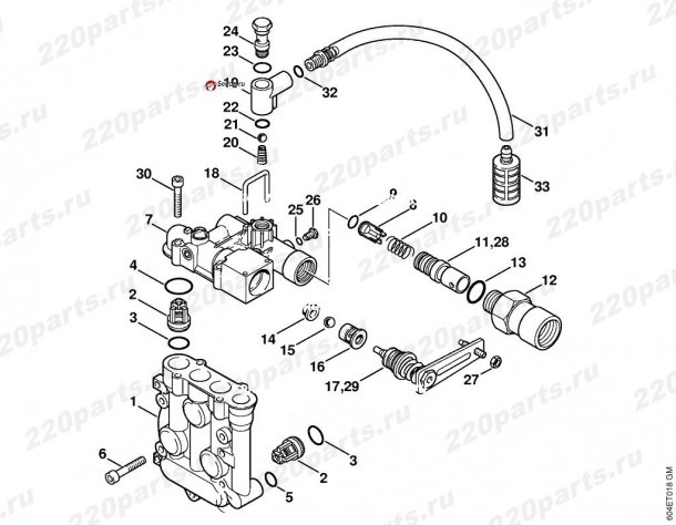 Parts Manual For Stihl Re115k