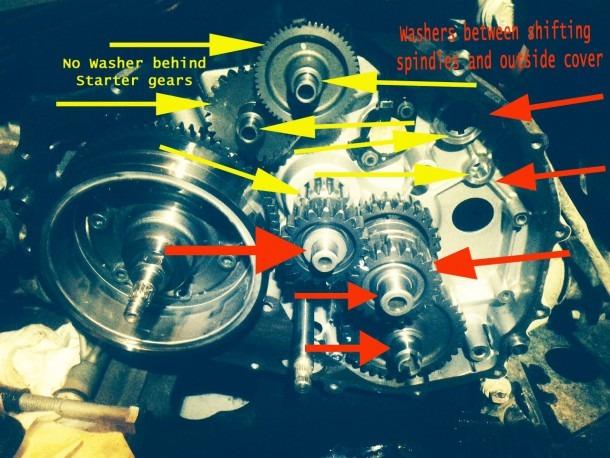 04 400 4x4 Starter Gear