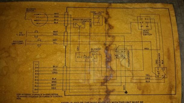 Coleman Presidential Furnace Wiring Diagram