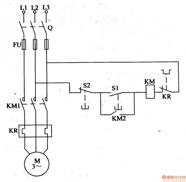 Stop Start Motor Starter Wiring Diagram