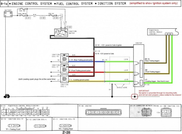 3 Wire Ignition Coil Diagram